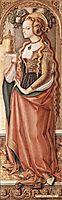 Mary Magdalene, 1490, crivelli