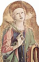 Saint Catherine of Alexandria, 1473, crivelli