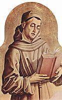 Saint Francis, c.1470, crivelli