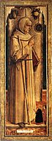 Saint James of the Marches with two kneeling donor, 1477, crivelli