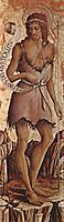 Saint John the Baptist, 1468, crivelli