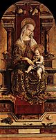 Virgin and Child, 1482, crivelli