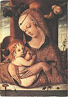 Virgin and Child, c.1480, crivelli