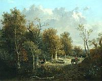 The Edge of the Forest, crome