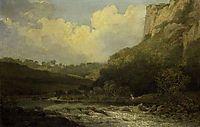 High Tor, Matlock, 1811, crome