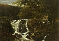 Landscape with a Waterfall near Norwich, Norfolk, 1819, crome