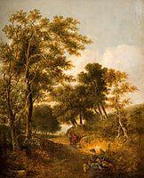 Lane near Norwich, crome