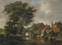 The River Wensum, Norwich, 1814, crome