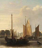 Sailing Barges, crome