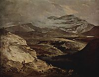 Slate Quarries, 1805, crome