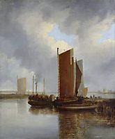 The Steam Packet, 1817, crome