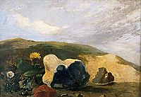 Study of Flints, 1811, crome