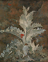 A Thistle, 1812, crome