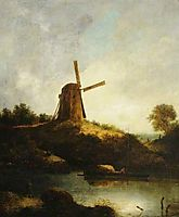 The Windmill, crome