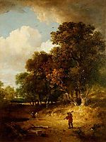 A Woody Landscape, crome