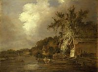 The Yare at Thorpe, Norwich, 1806, crome