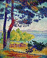 Afternoon at Pardigon, Var, 1907, cross