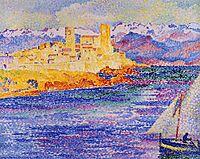 Antibes, 1908, cross