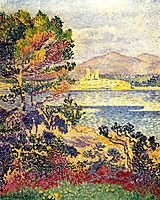 Antibes, Morning, c.1895, cross