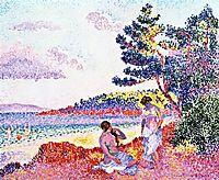 Bathers, c.1907, cross