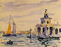 La Dogana, 1903, cross