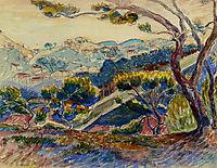 Landscape, 1909, cross