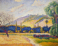 Landscape, c.1899, cross