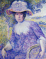 Portrait of Madame Cross, 1901, cross