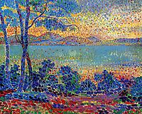 Provence Landscape, 1900, cross