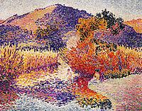 River in Saint-Clair, 1908, cross