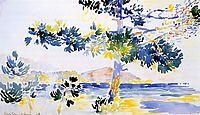 Saint-Clair Landscape, 1908, cross