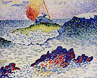 The Shipwreck, 1907, cross