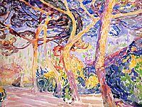 Under the Pines, c.1907, cross