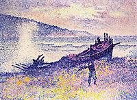 The Wreck, 1899, cross