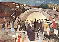 Mary-s Well at Nazareth, 1908, csontvary