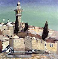 The Mount of Olives in Jerusalem, 1905, csontvary