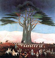 Pilgrimage to the Cedars in Lebanon, 1907, csontvary