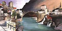 Roman Bridge at Mostar, 1903, csontvary