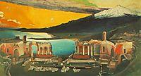 Ruins of the Ancient Theatre of Taormina, 1905, csontvary