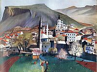 Springtime in Mostar, 1903, csontvary
