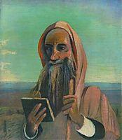Teacher in Morocco, 1908, csontvary