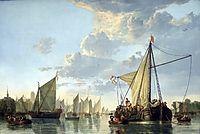 The Maas at Dordrecht, c.1650, cuyp