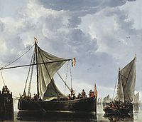 The Passage Boat, c.1650, cuyp