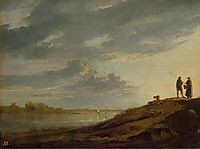 Sunset over the River, 1655, cuyp