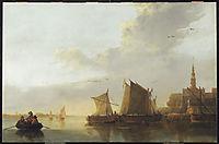 View of Dordrecht, 1655, cuyp
