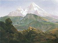Der Watzmann, 1825, dahl
