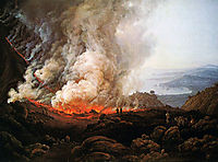 Eruption of Vesuvius, 1826, dahl