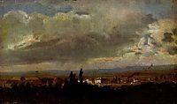 Gewitterstimmung bei Dresden, 1830, dahl