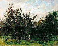 An Apple Orchard, c.1878, daubigny