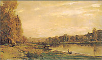 The banks of the Oise, daubigny